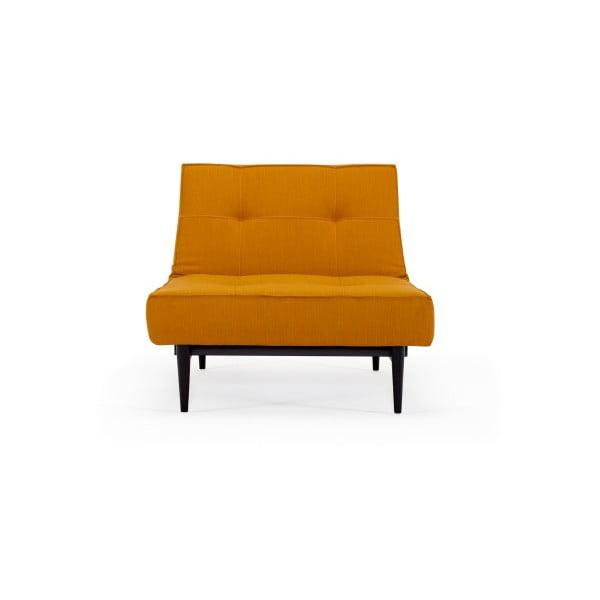 Pomarańczowy rozkładany fotel Innovation Splitback Elegance Burned Curry