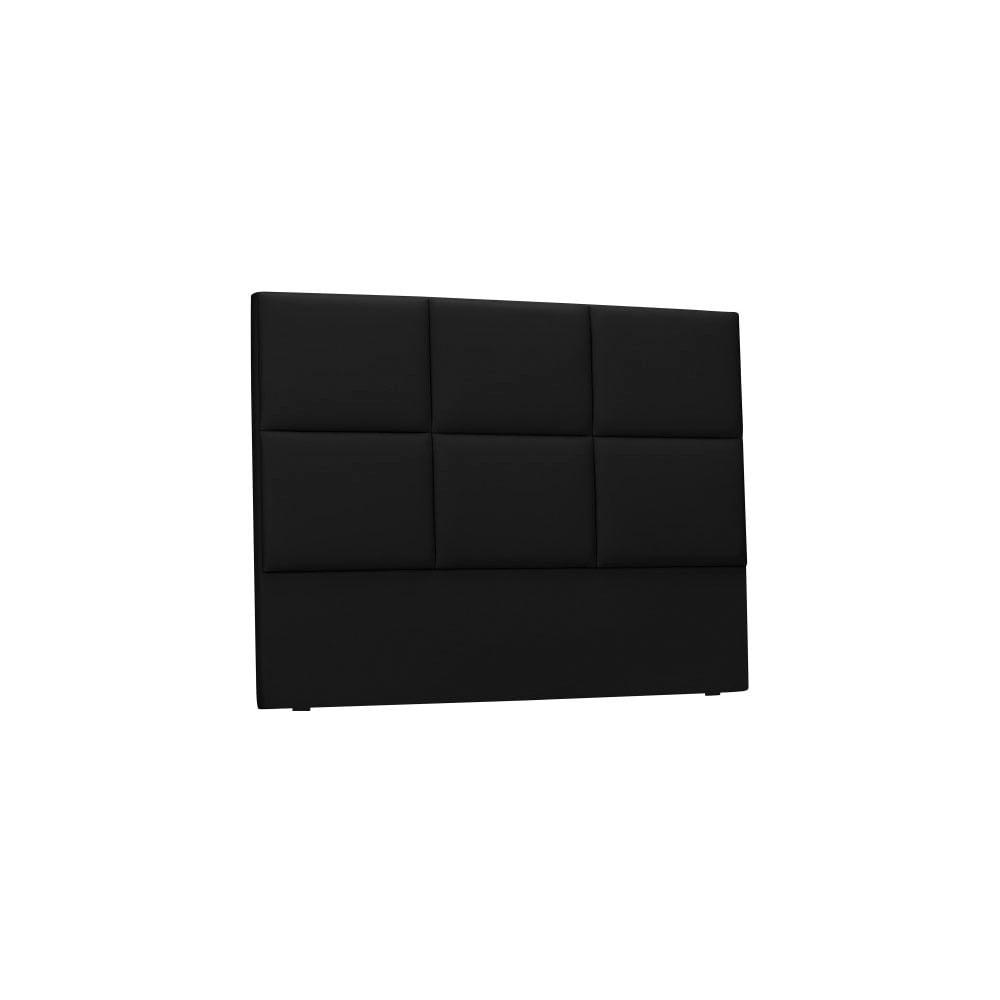 Czarny Tapicerowany Zagłówek łóżka The Classic Living Aude 160x120 Cm Bonami