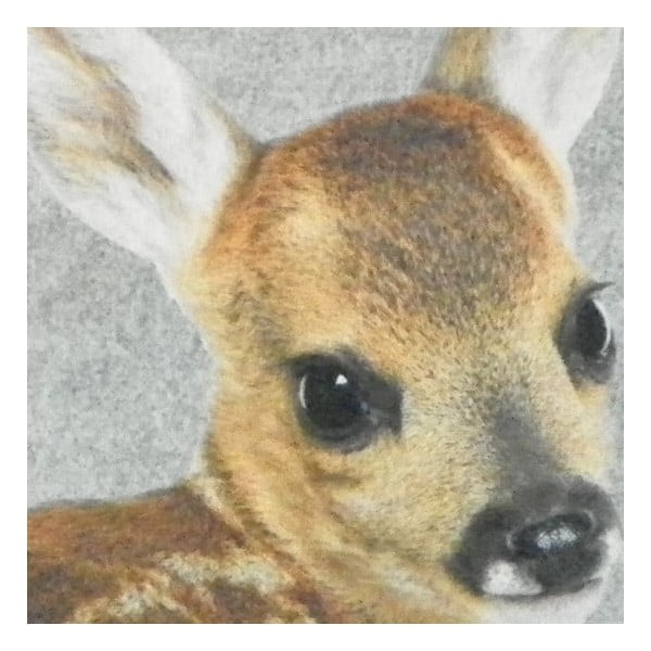 Dywanik Grey Bambi 75x50 cm