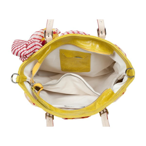 Torebka Monza, żółta