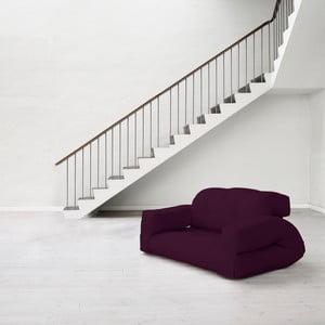 Sofa rozkładana Karup Hippo Purple Plum