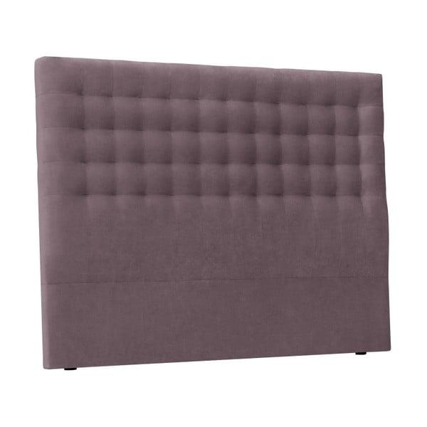 Fioletowy zagłówek łóżka Windsor & Co Sofas Nova, 160x120 cm