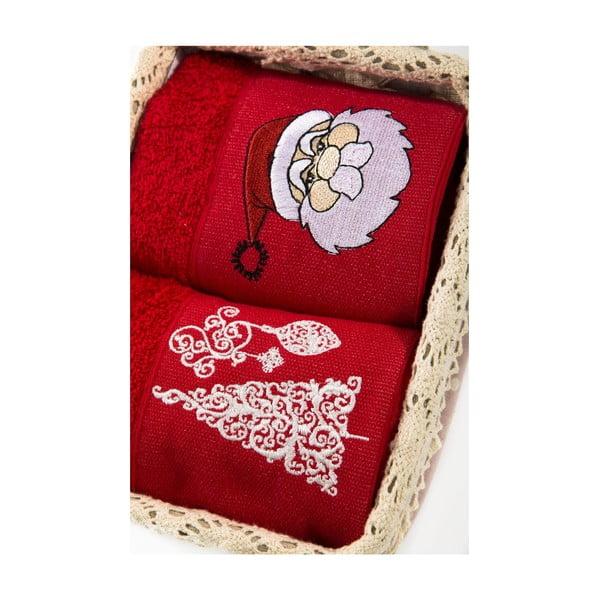 Zestaw 2 ręczników Xmas V18, 40x60 cm