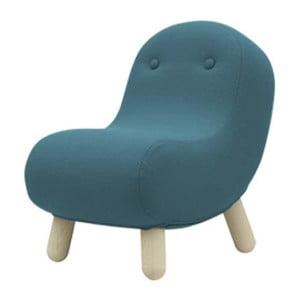 Turkusowy fotel Softline Bob Vision Turquoise
