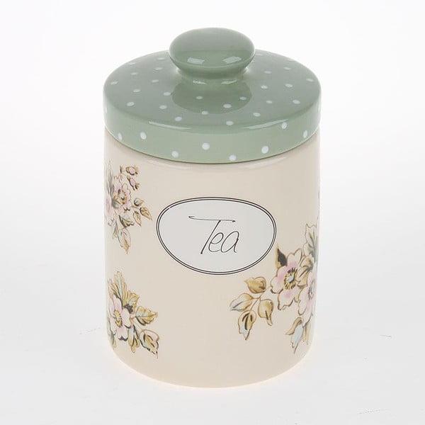 Porcelanowy pojemnik Tea with Flower