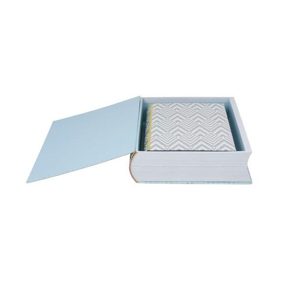 Zestaw 3 pudełek w kształcie książki Stockholm