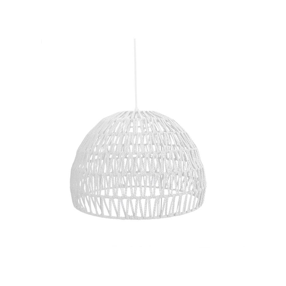 Biała lampa wisząca LABEL51 Rope, ⌀ 50 cm
