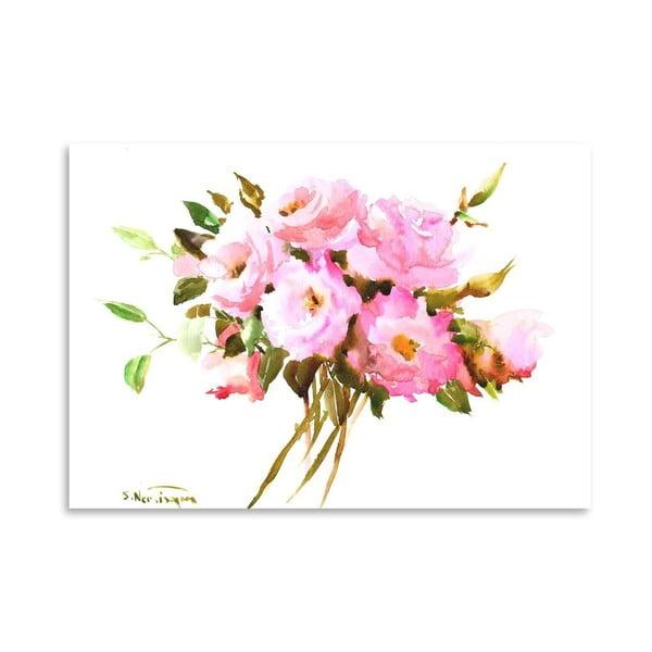 Plakat Roses in Pink (projekt Suren Nersisyan)