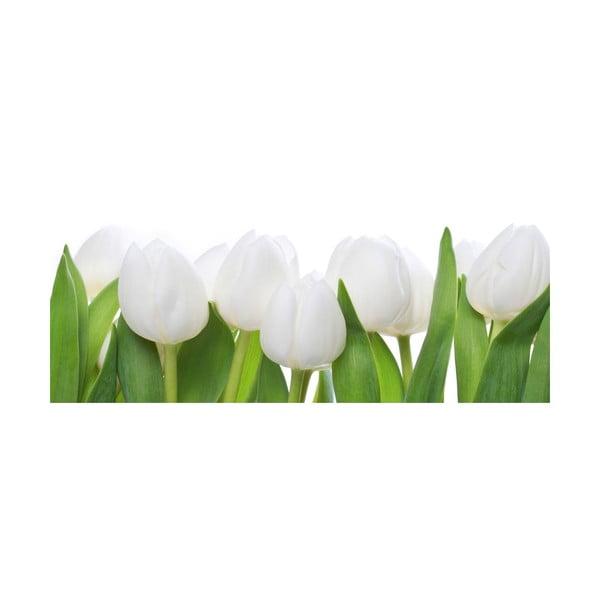 Szklany obraz Tulip Parade 30x80 cm