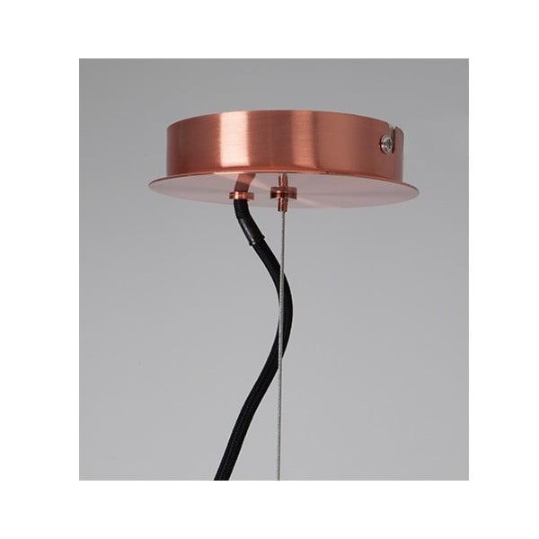 Lampa wisząca Retro Copper, 50 cm