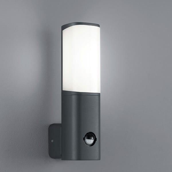 Kinkiet zewnętrzny z czujnikiem ruchu Ticino Antracit, 27 cm