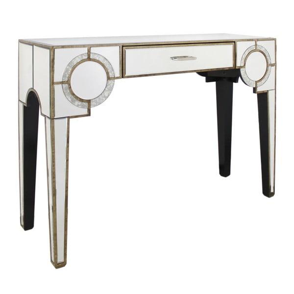 Stół z szufladą CIMC Gatsby Antique Mirror