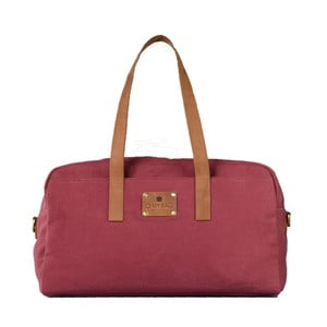 Bordowa torba skórzana O My Bag