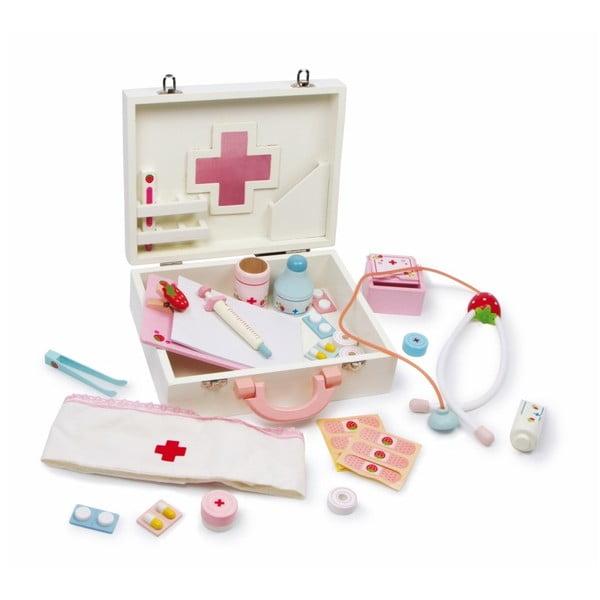 Drewniany zestaw lekarski dla dzieci Legler Isabel