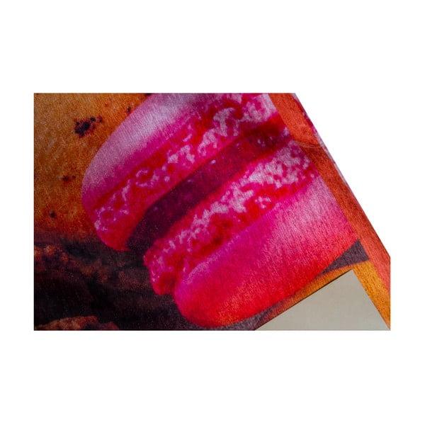 Wytrzymały dywan kuchenny Webtapetti Macarons, 60x110 cm