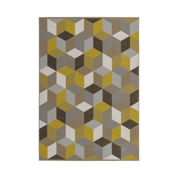 Dywan Stella 600 Yellow, 160x230 cm