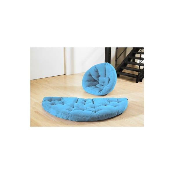 Fotel rokładany Karup Nest Horizon Blue