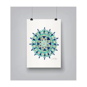 Plakat Americanflat Mandala, 30x42 cm