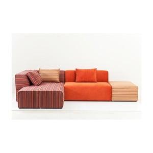 Sofa z szezlongiem po lewej stronie Kare Design Infinity Merci