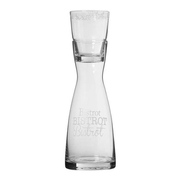 Karafka ze szklanką Bistrot
