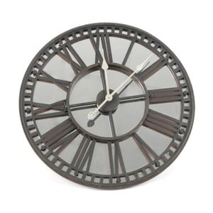 Zegar naścienny Mirror Black