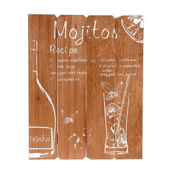 Dekoracja naścienna Mojit, 39x50 cm
