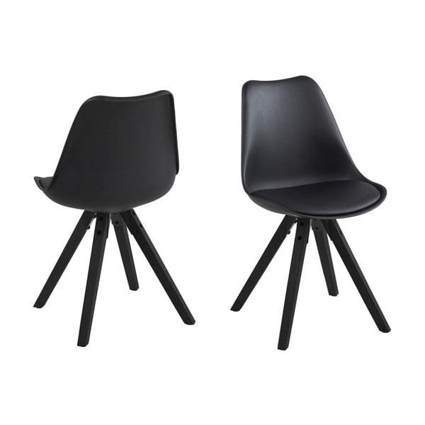 Krzesło do jadalni Dima, czarne