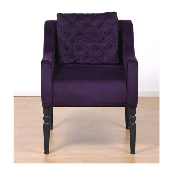 Fotel Wesley Purple