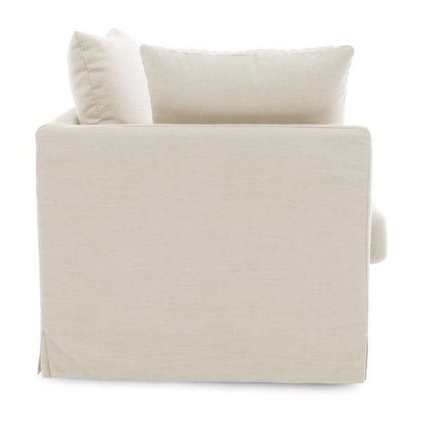 Kremowa sofa dwuosobowa Vivonita Coraly