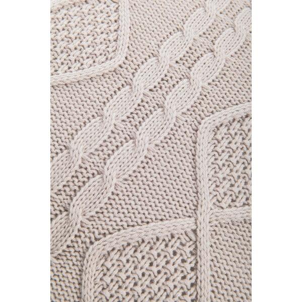 Pleciona poszewka na poduszkę Kosem Stone, 43x43 cm