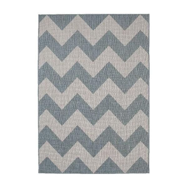 Niebieski dywan Think Rugs Cottage, 160x220 cm