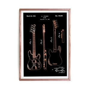 Obraz Really Nice Things Fender Guitar, 40x60 cm