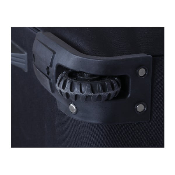Czarna torba podróżna na kółkach Hero Morvan, 150 l