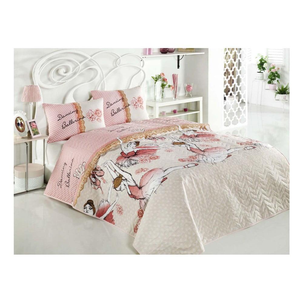 Narzuta Na łóżko Dwuosobowe Z Poszewkami Na Poduszki Ballerina