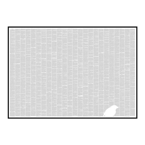 """Plakat """"O pochodzeniu gatunków"""", 118,9x84,1 cm"""