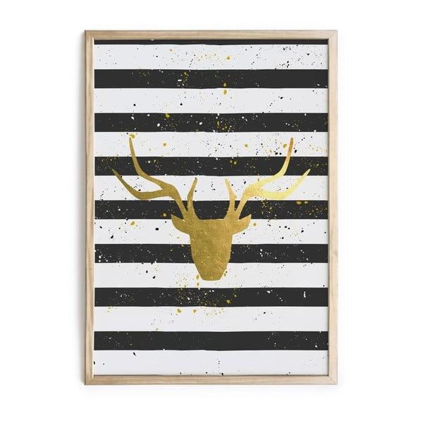 Obraz Really Nice Things Deer Stripes, 40x60cm