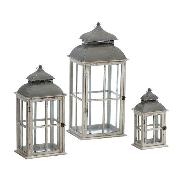 Komplet 3 lampionów Antique 79, 58 i 37 cm