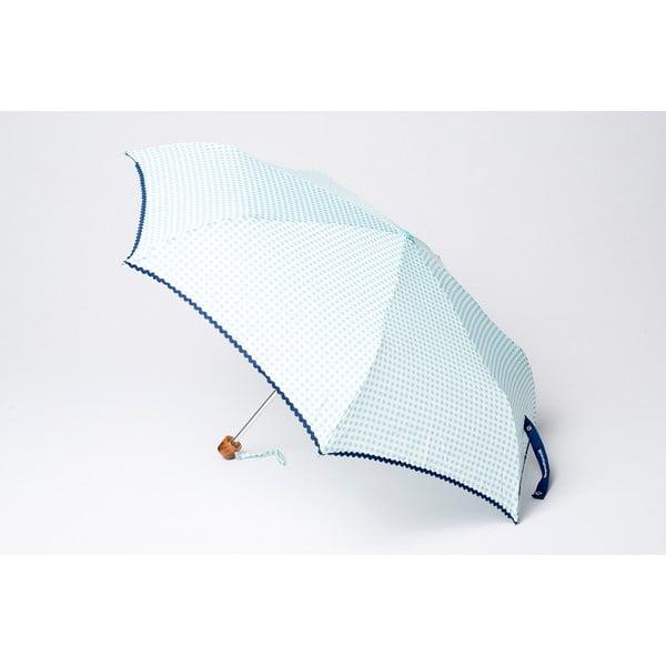 Składany parasol Vichy, niebieski