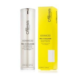 Dotleniający krem na noc z kolagenem Skin Chemists Pro, 50 ml