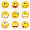 Zestaw 9 magnesów Smile