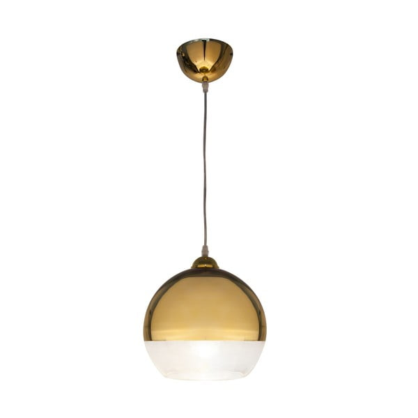 Lampa wisząca Scan Lamps Lux Gold, ⌀25 cm