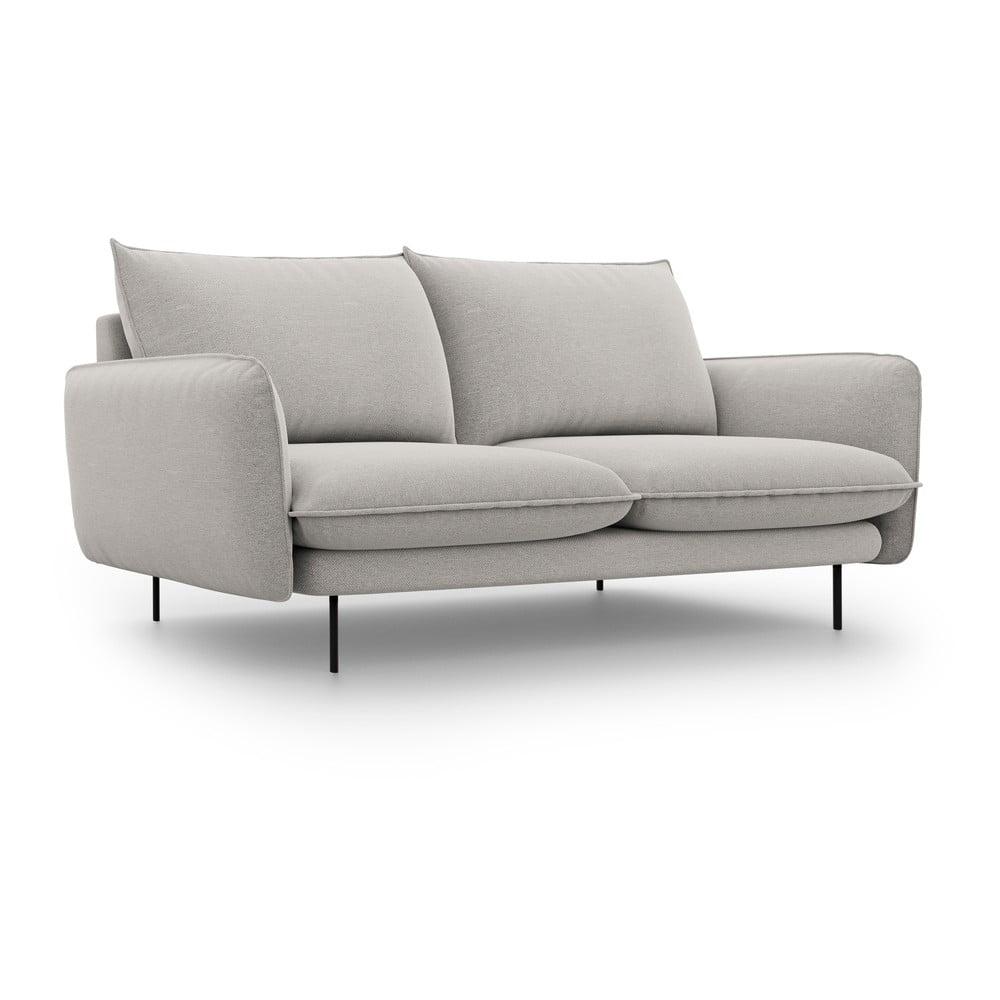 Jasnoszara sofa Cosmopolitan Design Vienna, szer. 160 cm