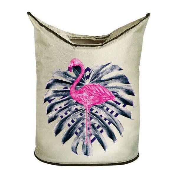 Kosz na bieliznę Pink Flamingo