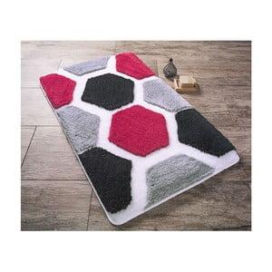 Czarny dywanik łazienkowy Confetti Bathmats Tenedos, 70x120cm