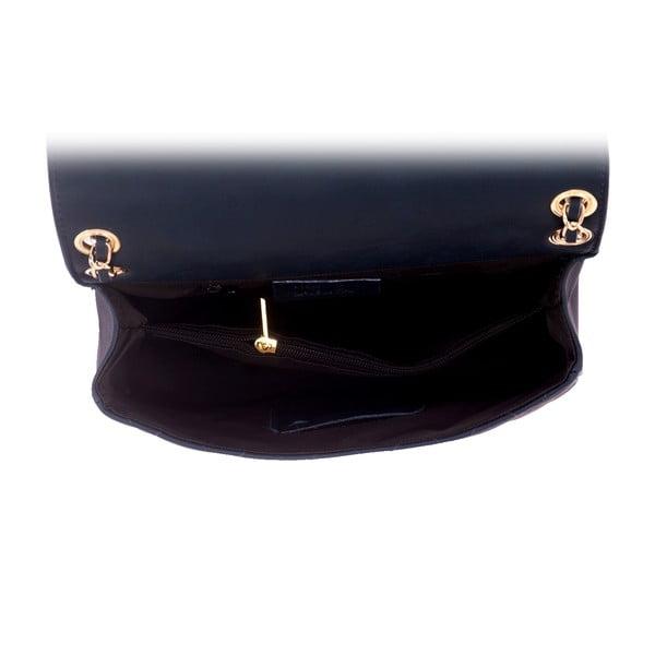 Ciemnoniebieska torebka skórzana Andrea Cardone Debora