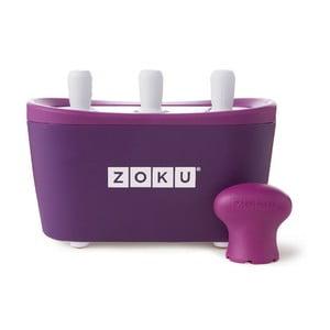 Fioletowa maszynka do lodów Zoku Quick Pop