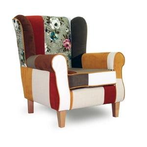 Kolorowy fotel Sinkro Rainbow