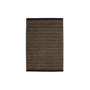 Wełniany dywan Mariposa 80x150 cm, brązowy