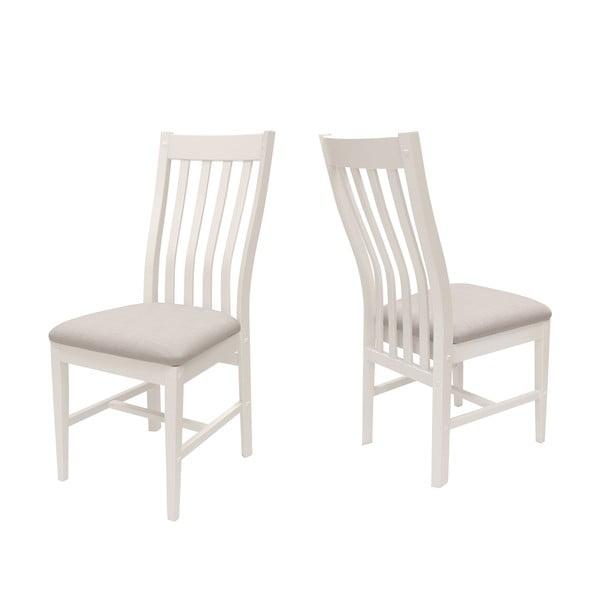 Białe krzesło Canett Skagen Pure