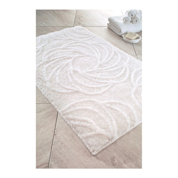 Dywanik łazienkowy Alara White, 70x120 cm